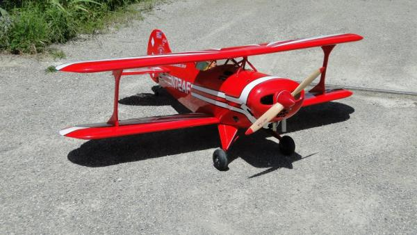 Pitts challenger thermique 26cc