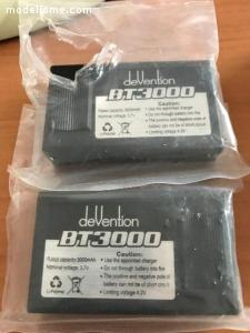 2 BATTERIES BT 3000