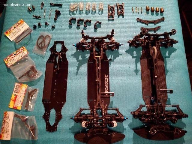 2 yokomo BD7 2014 + chassis alu + pièces