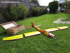 a vendre planeur prêt à voler en 10 mn