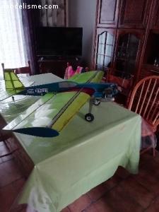 avion 3d occasion + en rc 9 voies + 3 récepteurs neufs