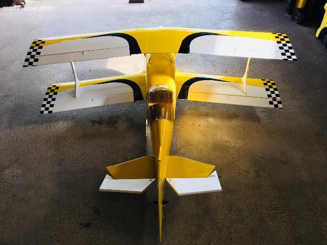Avion modélisme biplan Ultimate gros modèle 182cm