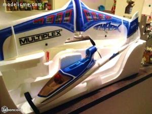 Avion motoplaneur SHARK & Biplan Crack pitts 60cm