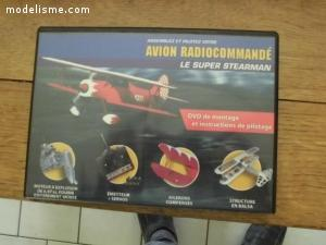 avion super steaman radio commande