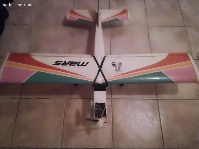 Avion trainer thermique complet et accessoires