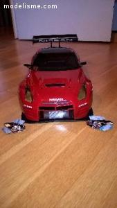 Carrosserie voiture 1/10 Vaterra Nissan GTR GT3