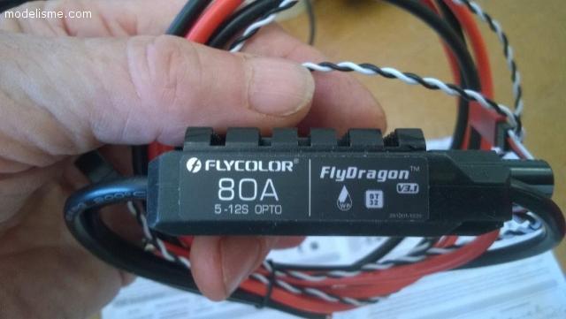 Contrôleur Flycorlor OPTO 80A 5/12S