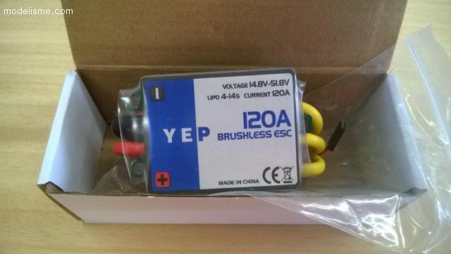 Contrôleur YEP 120A HV 4/14S