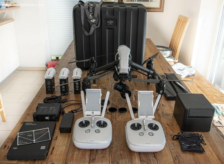 Drone DJI Inspire 1 Pro avec X5R RAW / OSMO / 2x télé