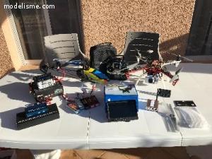 DRONE F450DJI QUADRO V3+NAZA-M LITE+GPS+CAMERA+HELICO TREX