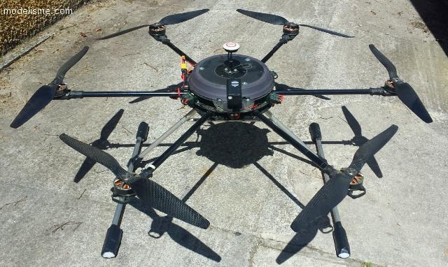 Drone Prototype Hexa Gros Porteur.