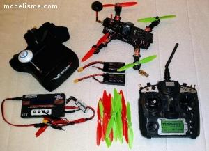 Drone Racer FPV classe 250 - PACK COMPLET