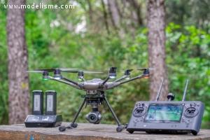 Drone Yuneec Typhoon H+ Real Sense avec sac à dos