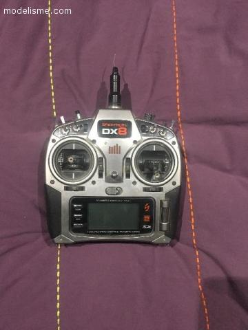Funcopter Multiplex v2 + radio Spektrum DX8