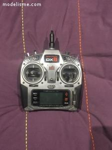 Funcopter Multiplex v2 + radio Spektrum DX8