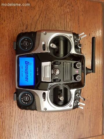 Graupner mx-16 Hott + GR-12L