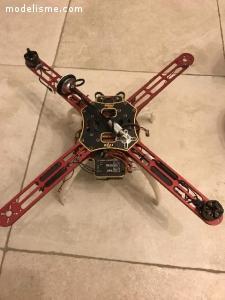 Graupner MZ18 + DJI F450 Naza v2