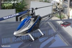 Hélicoptére T rex 550e fbl