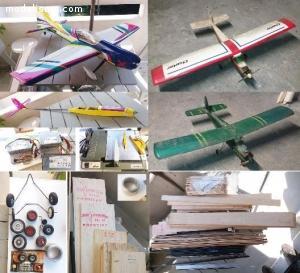 Materiel Aeromodélisme - Avion, Planeur, Radio,  Batteries