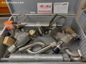 Moteurs ZDZ 40RV + allumage électronique et résonateur