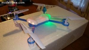 Petit drone racer artisanal 230