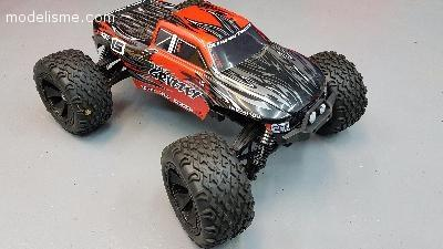 PIRATE GRIZZLY RTR BRUSHLESS + ACCESSOIRES COMME NEUF