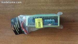 Pro-Tronik Batterie LiPo Black Lithium 6s 22.2v 5000mAh 35c