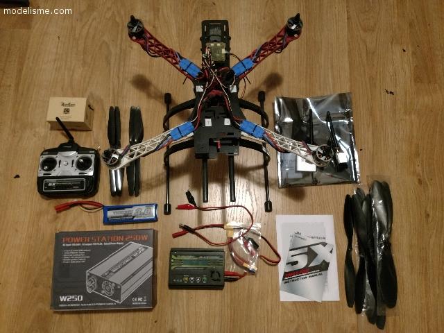 Quadcopter DIY + accessoires