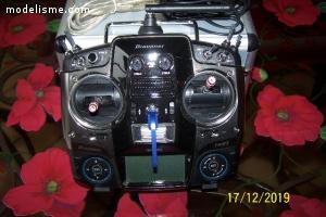 Radio groupner mx 20 hott 12 voies