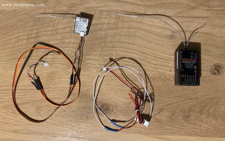 Récepteur Spektrum AR8010T