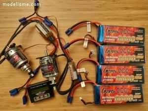 Set électrique gros moteurs