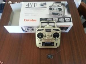 Télécommande Futaba 4ch 2.4GHz
