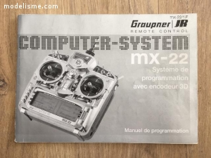 Télécommande Graupner MX22