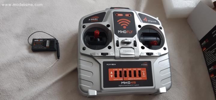 telecommande MHD4S et recepteur