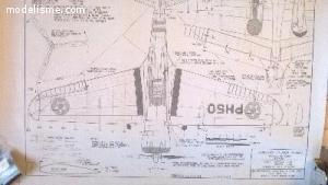 Tout pour construire Curtiss H75 2 mètres