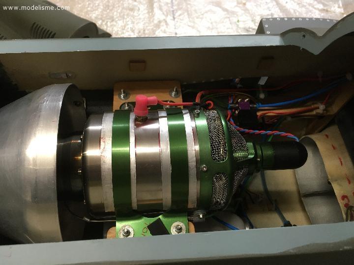 Vds turboréacteur 8 kg poussée