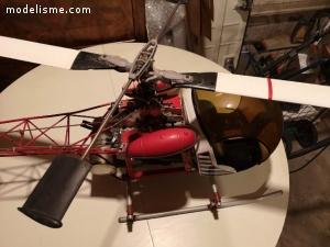 Vends Hirobo Bell47G