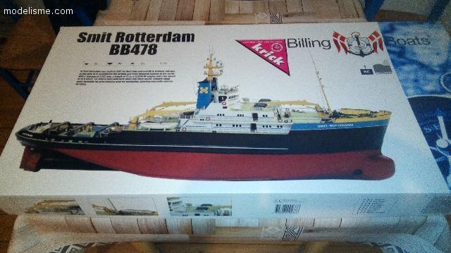 Vends smit Rotterdam Billings boat