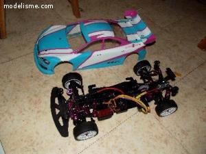Voiture électrique 4 roues motrices SAKURA S Zéro
