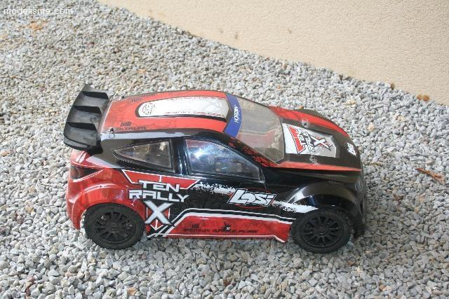 voiture RC losi TEN Rally X 1/10