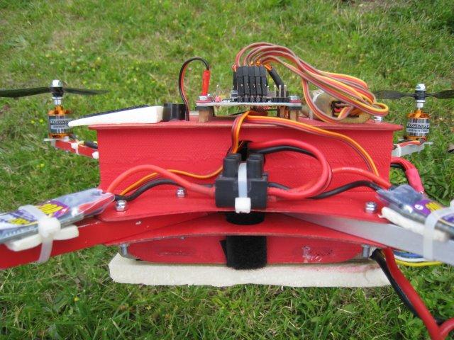 drone, chassis coté